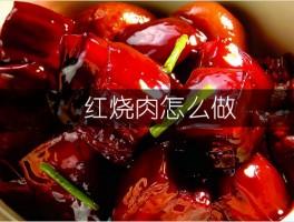红烧肉怎么做?分享红烧肉的做法